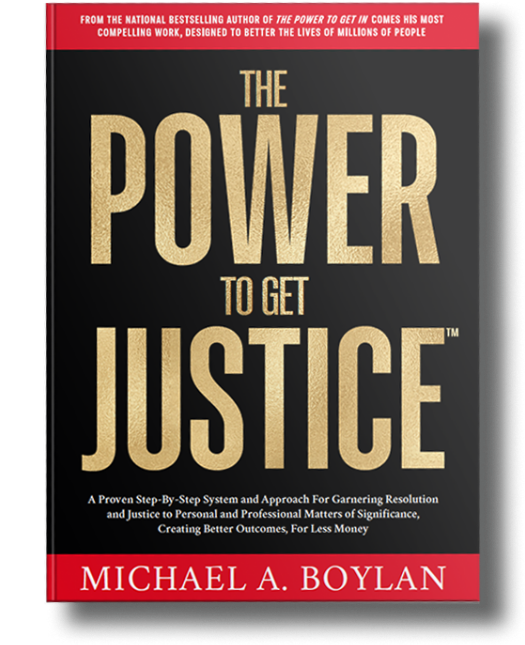 Power to Get Justice Book Front